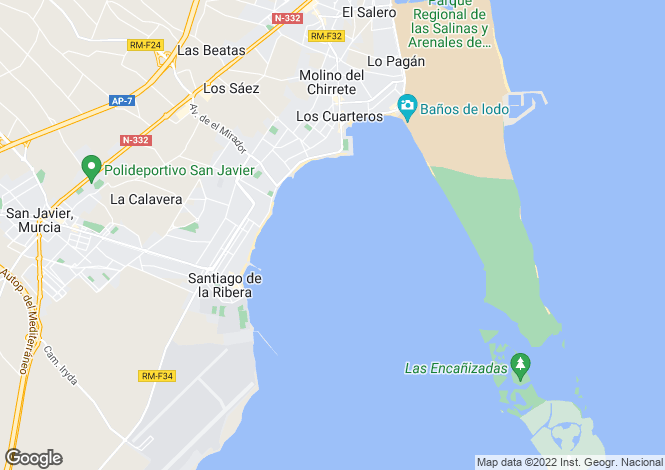 Map for REF - SDL22 ,Santiago De La Ribera ,Murcia ,Spain