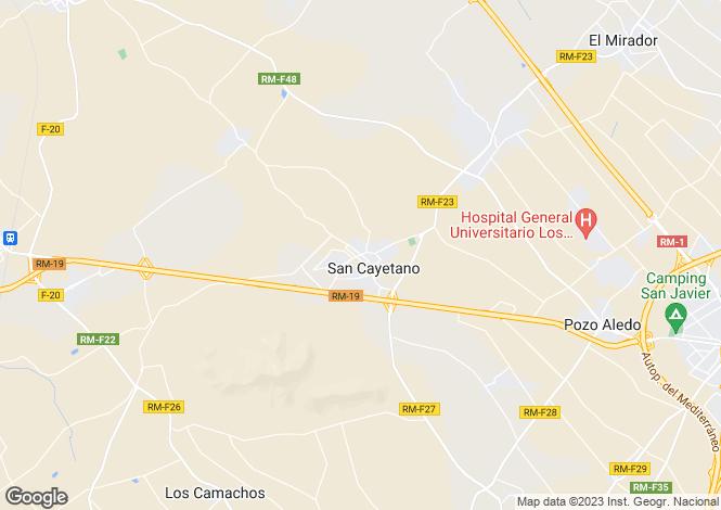 Map for Spain - Murcia