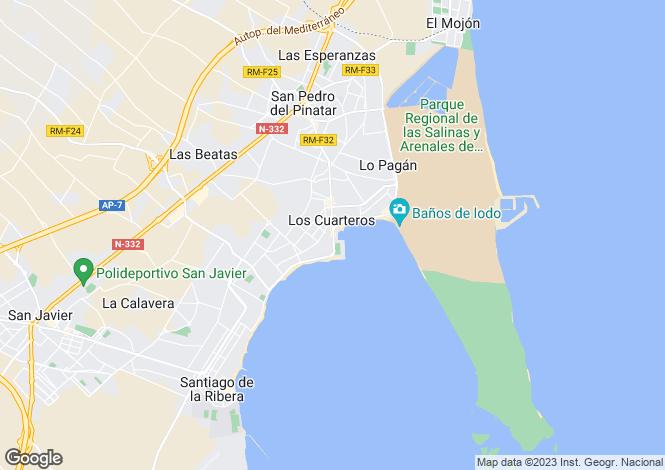 Map for Lo Pagan, Murcia