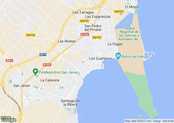Map for San Pedro del Pinatar, Murcia, Spain