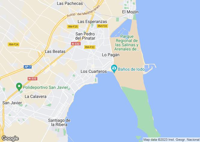 Map for Calle Campoamor  Lo Pagán  San Pedro Del Pinatar, Lo Pagán, San Pedro del Pinatar