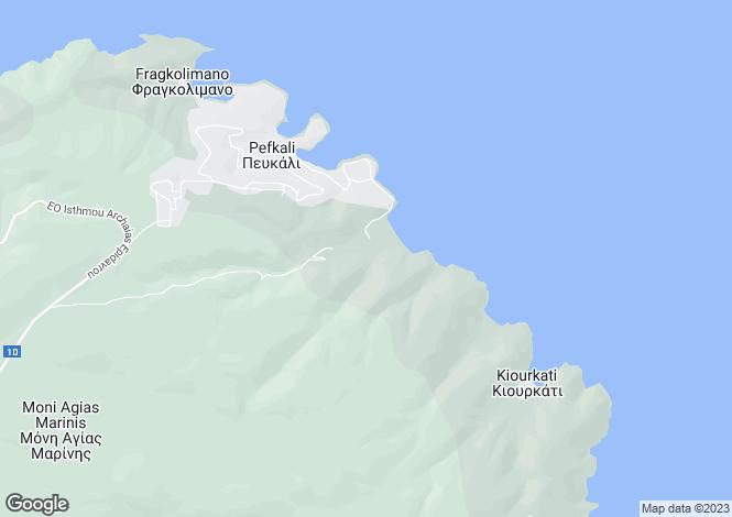 Map for Sofiko, Corinthia, Peloponnese