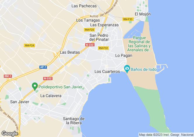 Map for San Pedro del Pinatar