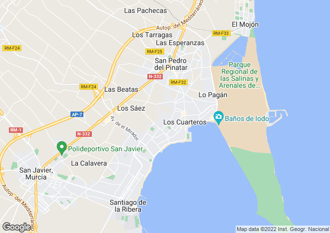 Map for Lo Pagan, Murcia, Spain