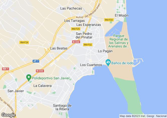 Map for San Pedro del Pinatar, San Pedro del Pinatar, Murcia