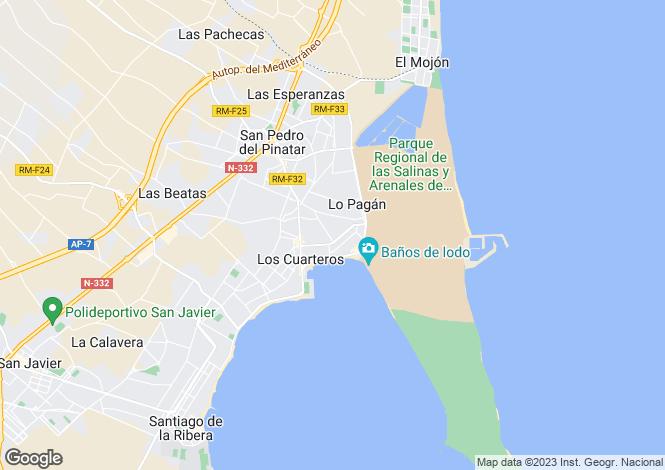 Map for Murcia, Las Terrazas de la Torre Golf Resort