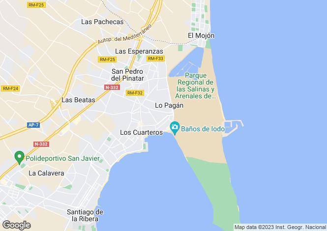 Map for Murcia, Lo Pagan