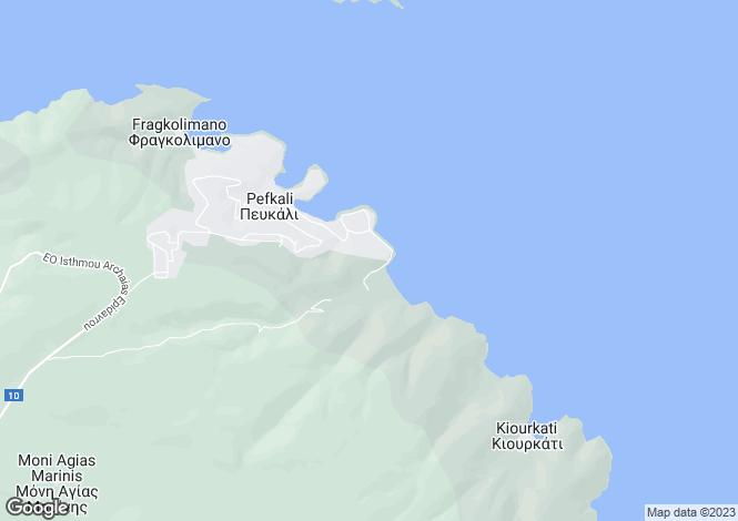Map for Korfos, Corinthia, Peloponnese