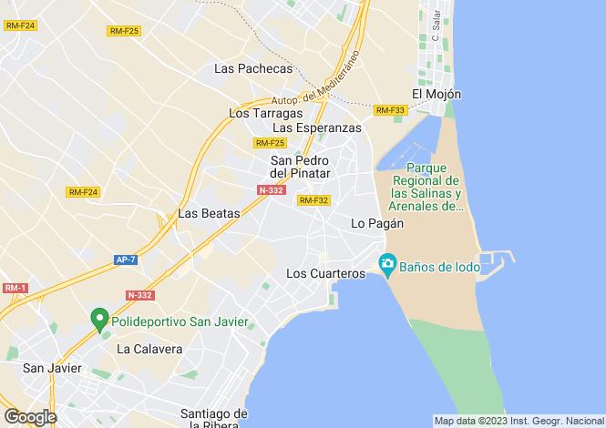 Map for Murcia, San Pedro del Pinatar