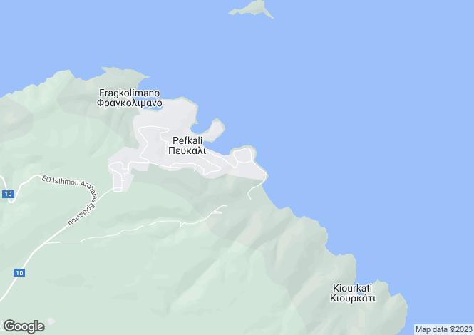 Map for Peloponnese, Corinthia, Korfos