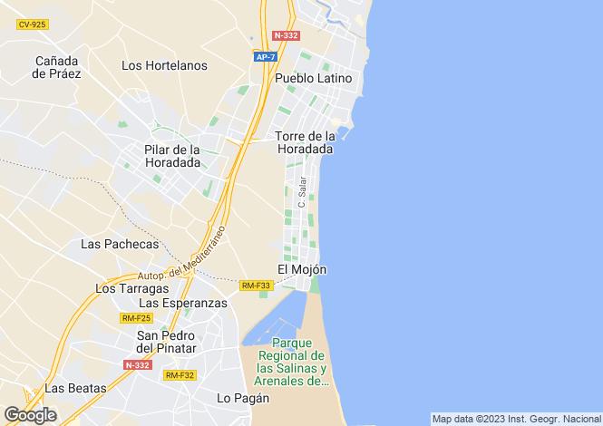 Map for Murcia, El Mojon