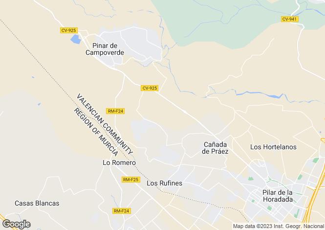 Map for Pilar de la Horadada, Pilar de la Horadada, Alicante