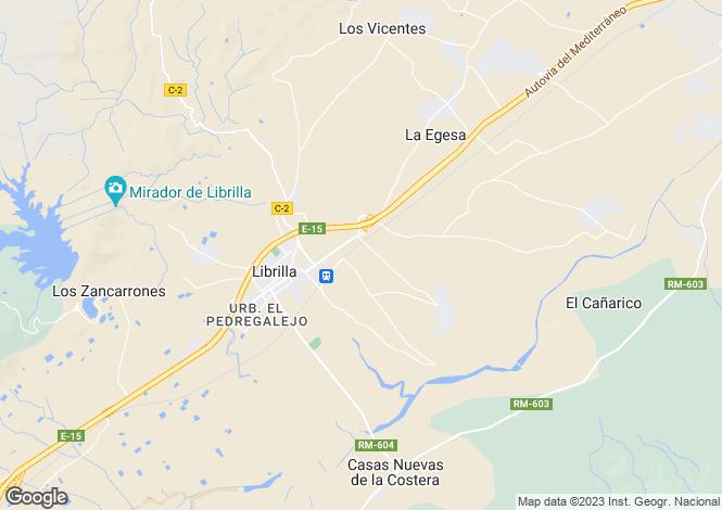 Map for Librilla, Murcia, Spain