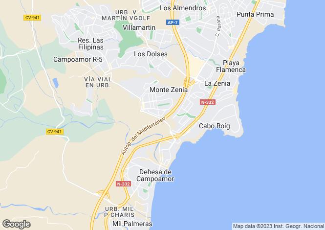 Map for Calle Cabo de la Nao Vivienda Duplex 69, Orihuela Costa, Orihuela