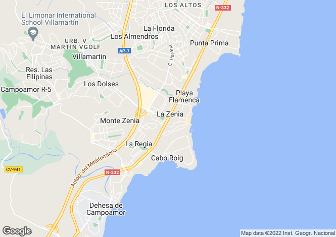 Map for REF - OR124 ,La Zenia ,Alicante ,Spain