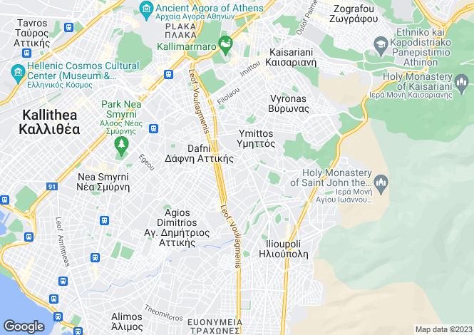Map for Attica, Viron