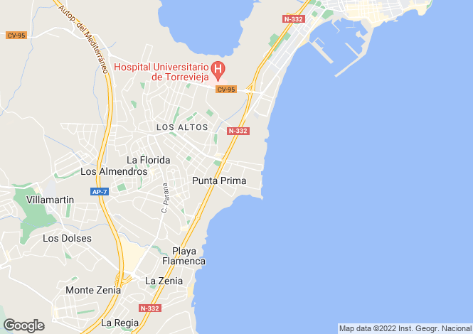 Map for REF - PP06 ,Punta Prima ,Alicante ,Spain