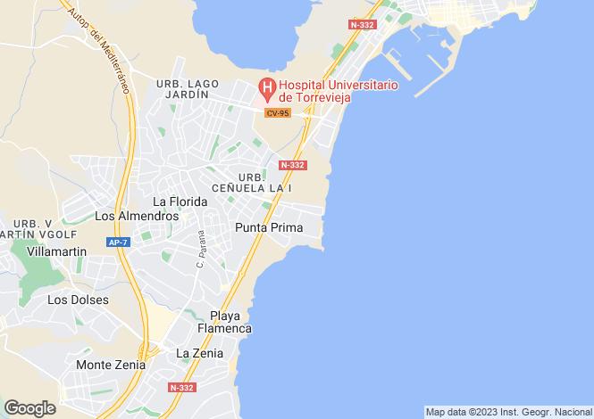 Map for Avenida de Las Olas  La Entrada  blq. 6 - 3A, Punta Prima, Torrevieja