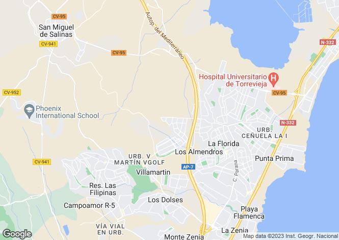 Map for Urbanització Pau 26. Vivienda 99, Orihuela Costa, Orihuela