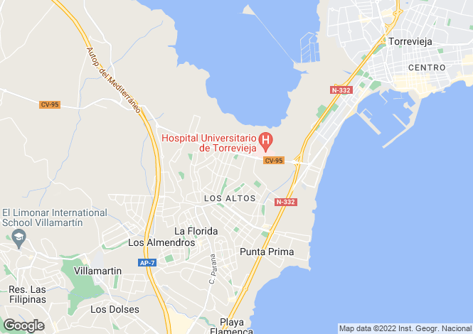 Map for Torrevieja