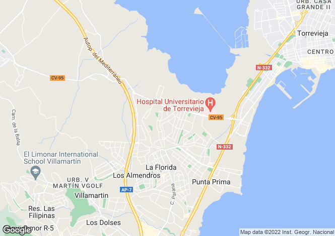 Map for Los Balcones, Alicante, Spain