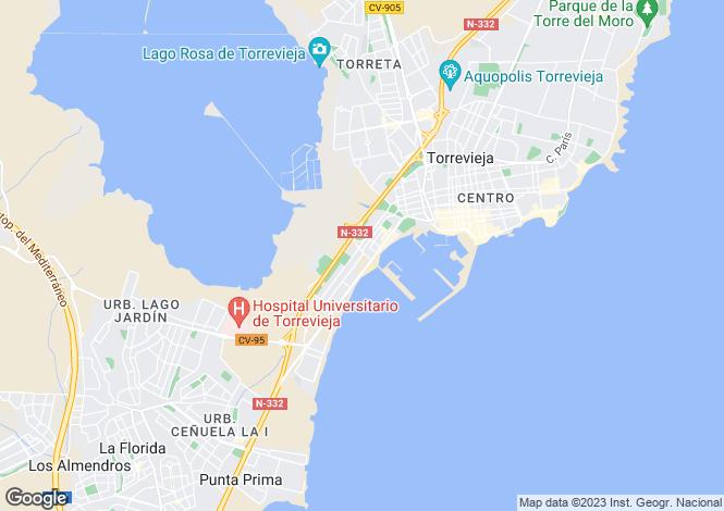 Map for Calle Maestro Quino  20 Playa de los Náufragos  Torrevieja, Torrevieja, Torrevieja