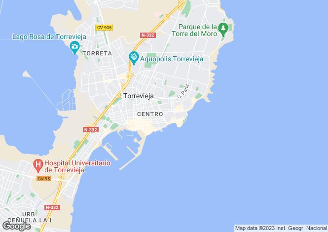 Map for C/ Almudena, Torrevieja, Torrevieja
