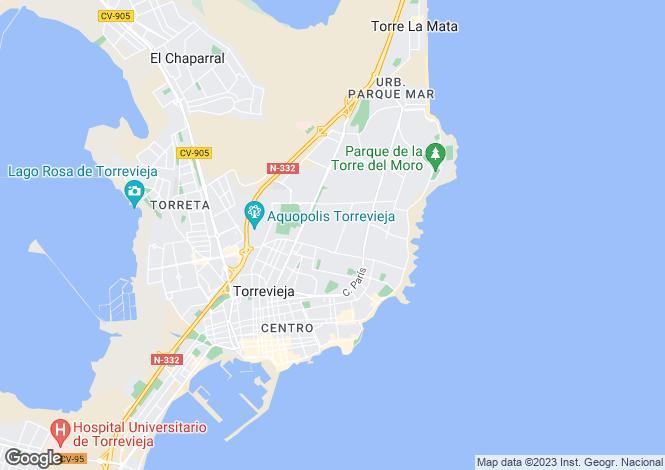Map for C/ Alborán con Avda. Córcega. Vivienda 39, Torrevieja, Torrevieja