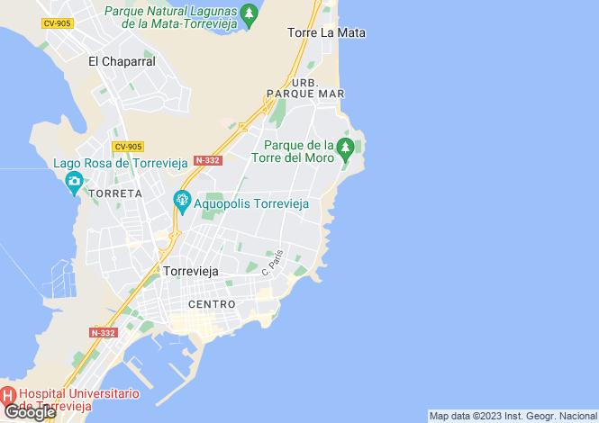 Map for Calle Garcia Rogel  39, Torrevieja, Torrevieja