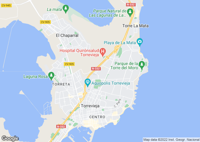 Map for Calle Victimas del Terrorismo  Res. Vistasol 1 - vivienda, Torrevieja, Torrevieja