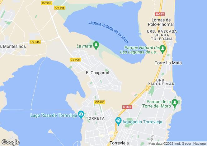 Map for La Siesta