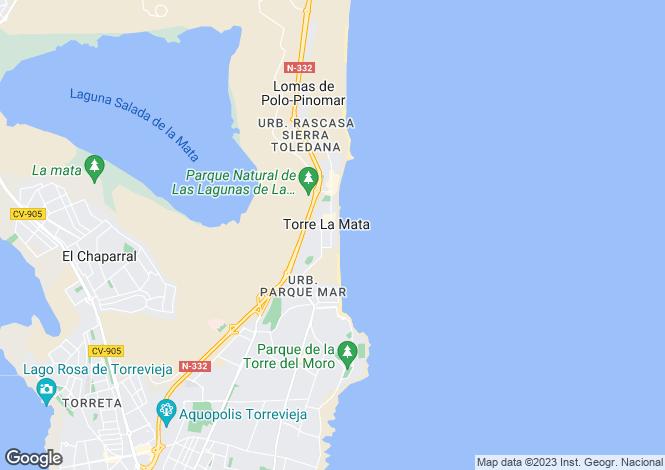 Map for La Mata, Torrevieja, Alicante, Spain