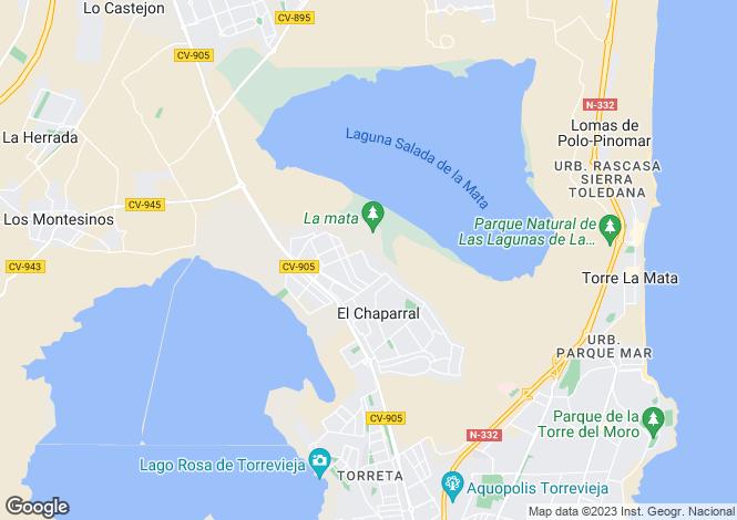 Map for San Luis, Alicante, Valencia