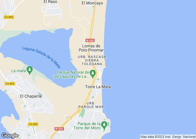 Map for La Mata