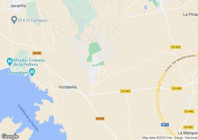 Map for San Migel De Salinas
