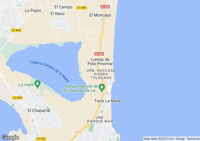 Map for Guardamar del Segura