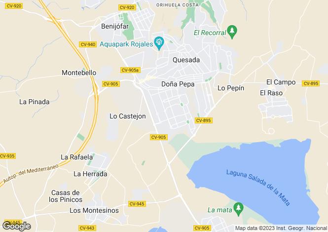 Map for Ciudad Quesada