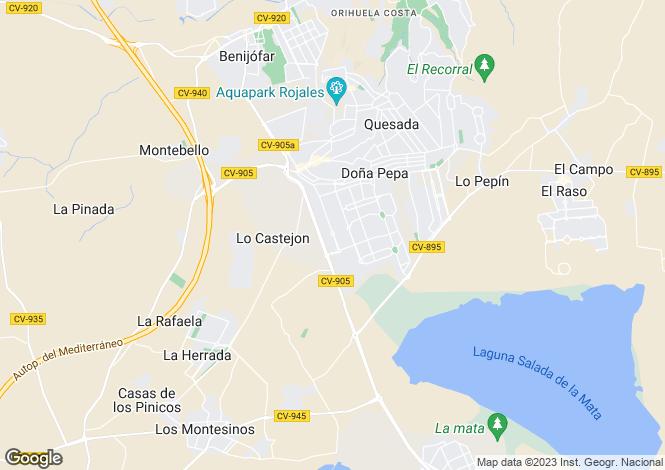 Map for Avenida jerez de la frontera  03170 Rojales  Alicante Augusta III villa modelo marabú vivienda 33, Ciudad Quesada, Rojal