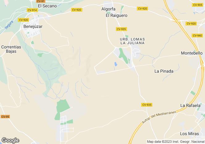 Map for La Finca Golf