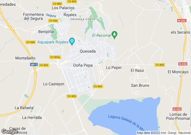 Map for Rojales