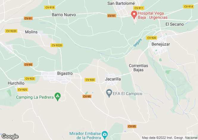 Map for Calle Mar de Fondo  3 Apartamento Bloque 2 Planta 8 1B, Orihuela, Orihuela
