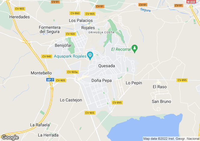 Map for REF - QUE28 ,Ciudad Quesada ,Alicante ,Spain