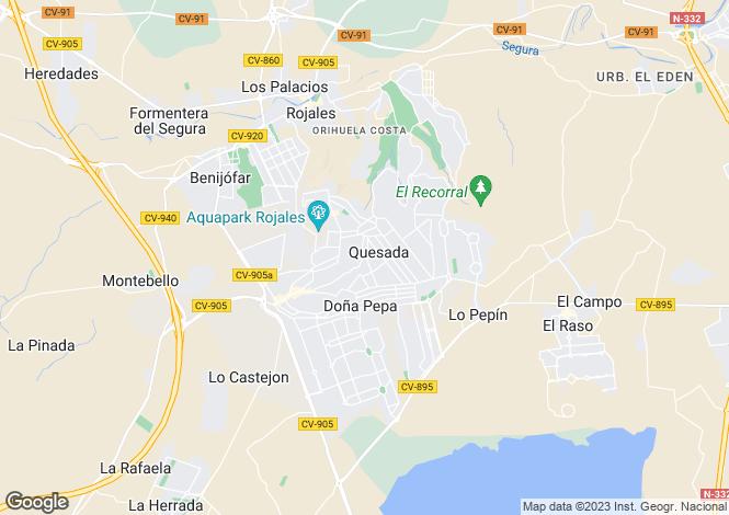 Map for Ciudad Quesada, Ciudad Quesada, Alicante, Spain