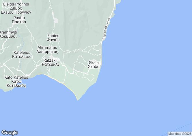 Map for Skala, Cephalonia, Ionian Islands