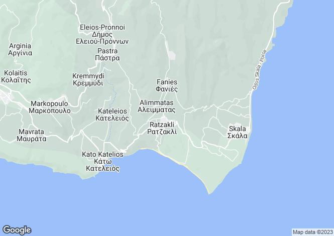 Map for Ratzakli, Cephalonia, Ionian Islands