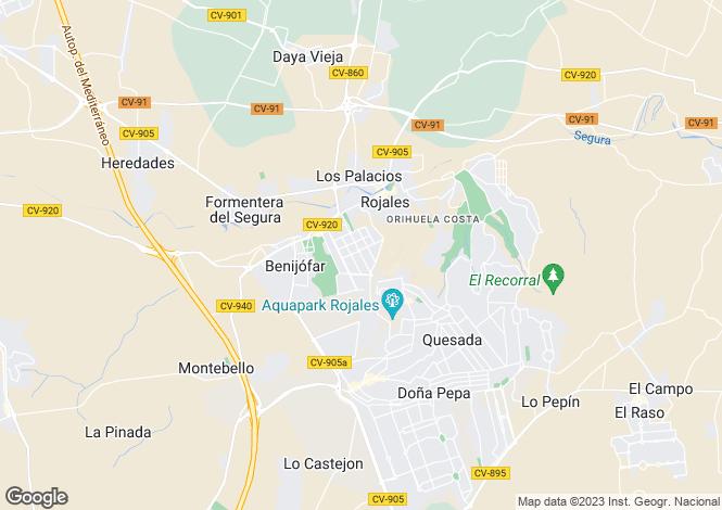 Map for Benijofar