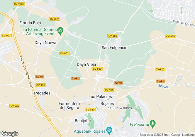 Map for Daya Vieja, Daya Vieja, Alicante, Spain