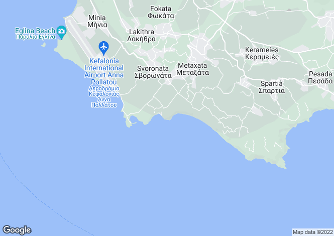 Map for Svoronata, Cephalonia, Ionian Islands