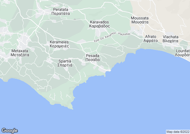 Map for Pesada, Cephalonia, Ionian Islands