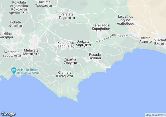 Map for Kountourata, Cephalonia, Ionian Islands